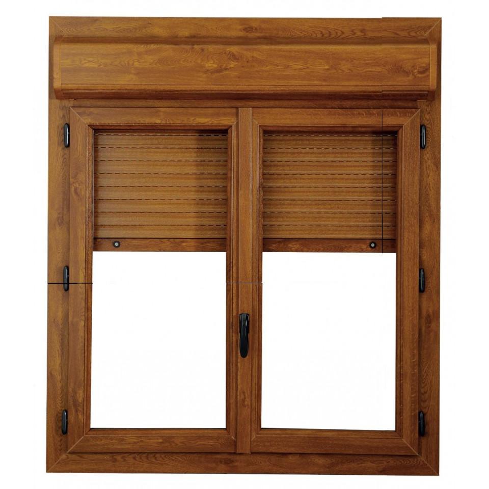 Fen tre porte fen tre pvc alta twin coffre volet int rieur - Porte fenetre interieur ...