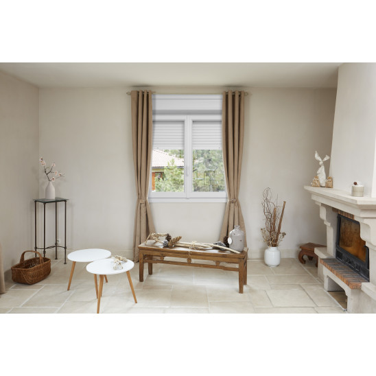 Fenêtre / porte-fenêtre PVC Alta Therm avec coffre volet intérieur
