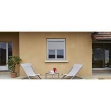 fenêtre / porte-fenêtre en PVC Alta Décor avec coffre volet extérieur