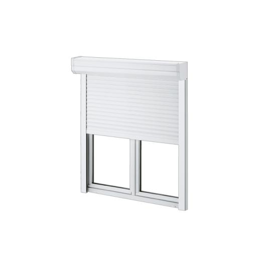 Fenêtre / porte-fenêtre PVC Clartherm avec coffre volet extérieur