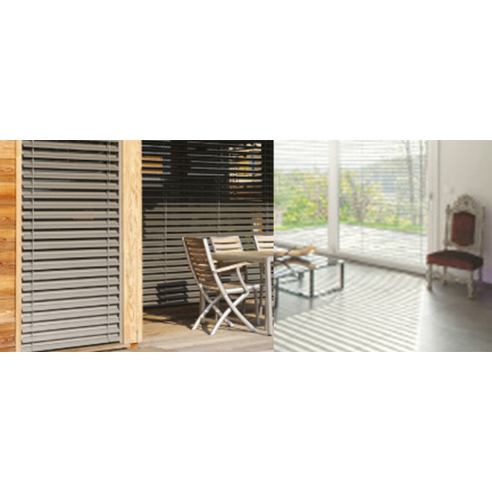 brise soleil orientable ext rieur grosfillex. Black Bedroom Furniture Sets. Home Design Ideas