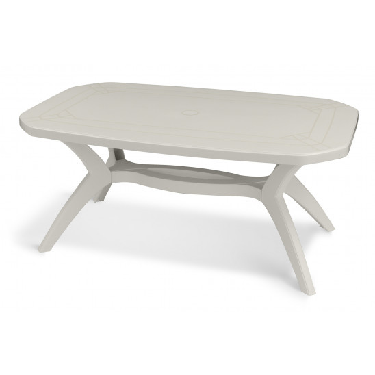 Table de jardin Ibiza 165 cm