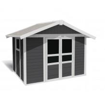 Abri de jardin Basic Home 7,5 m² Gris foncé