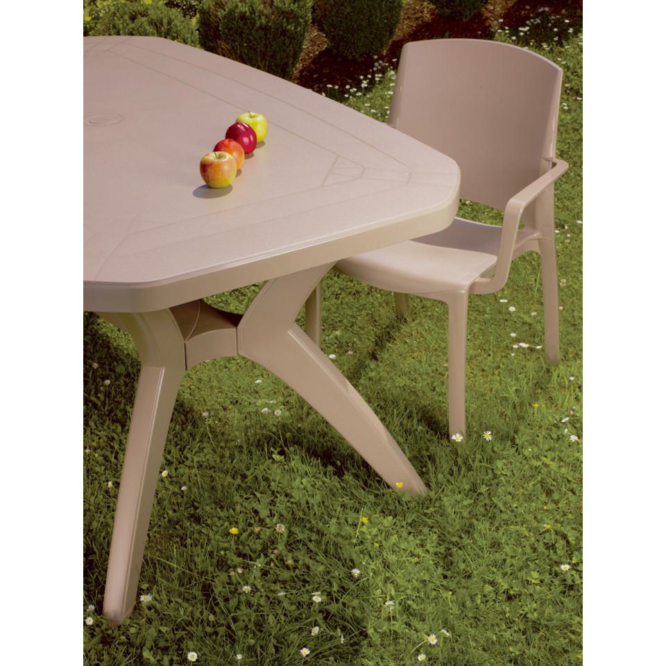 Table de jardin Ibiza 220 cm