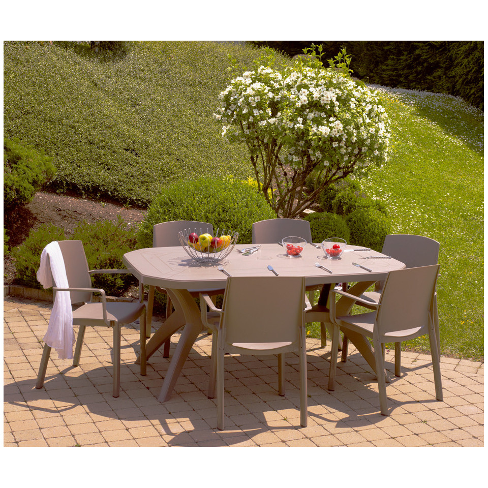 Table de jardin Ibiza 220 cm