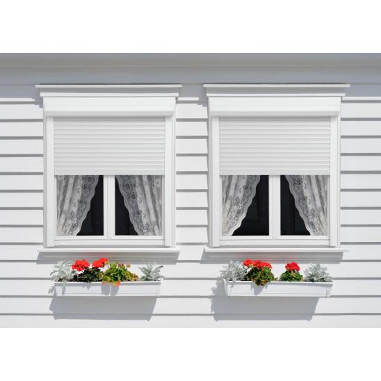 Fenêtre / porte-fenêtre PVC  Alta Therm coffre volet extérieur