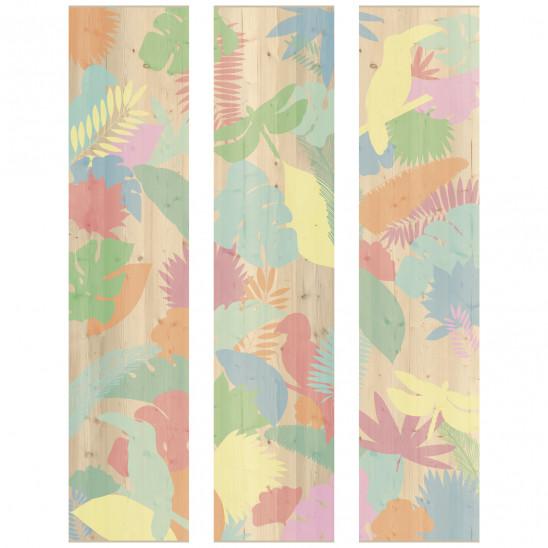 Cadre décoratif mural Jungle colour
