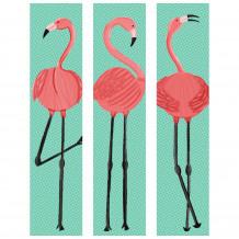Cadre décoratif mural Flamingo