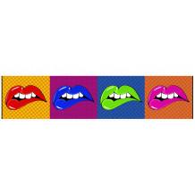 Cadre décoratif mural pano Lip's Wow'Roll