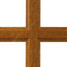 petit bois chêne doré