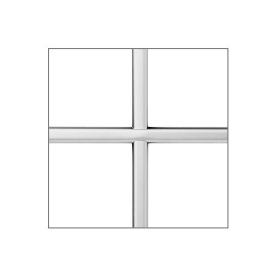 Petit bois PVC blanc 10 mm