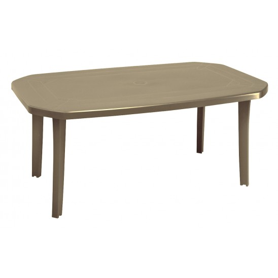 Table de jardin Miami 165 cm