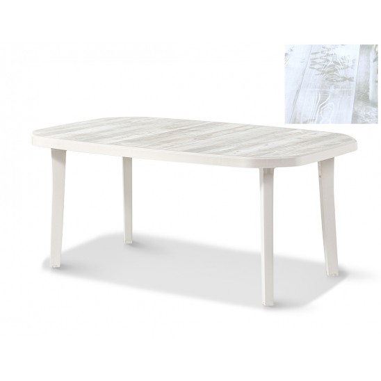 Table de jardin Nordic 165 cm
