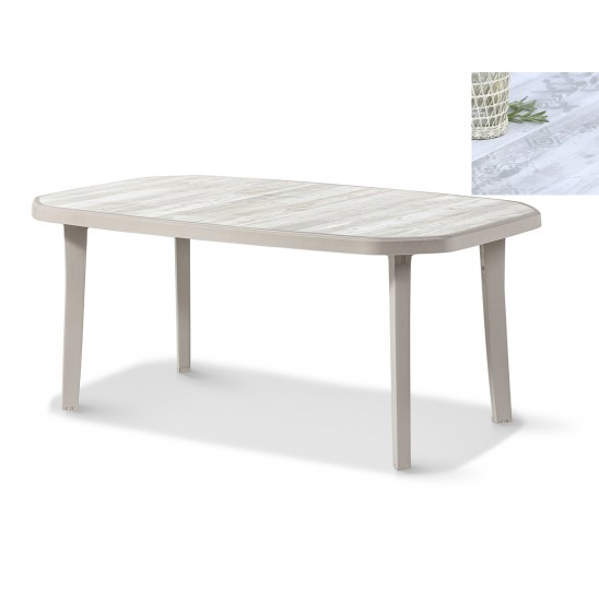 Table de jardin Nordic 165 cm