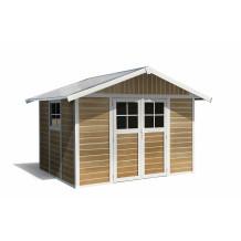 Abri de jardin Déco 7,5 m² Sherwood