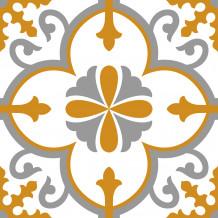 Carreaux adhésifs Square Flore