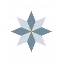 Carreaux adhésifs Diamond Rosace
