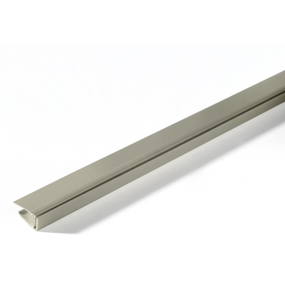 Coller Corniere Alu Sur Carrelage Exterieur profil de finition d'extrémité clippable
