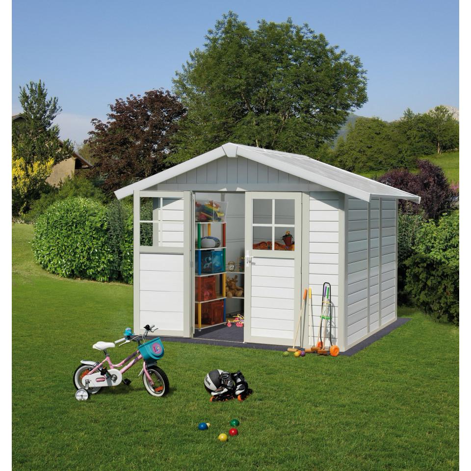 dalles pour abri de jardin 4 9 m. Black Bedroom Furniture Sets. Home Design Ideas