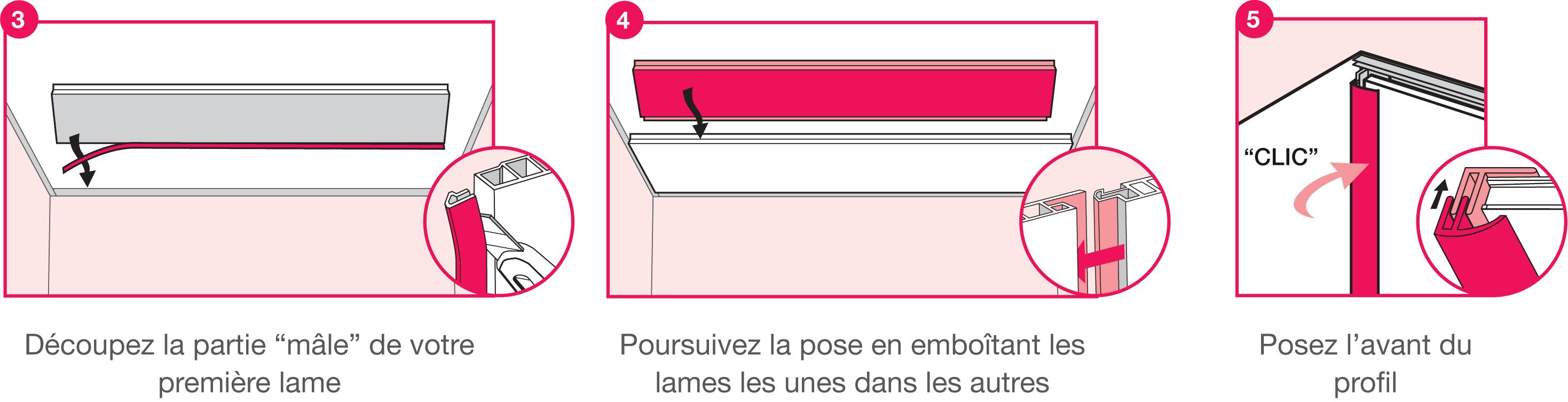 Chapitre 15 : La pose du lambris PVC au plafond