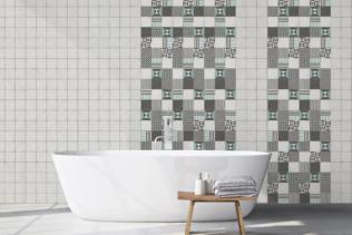 Le revêtement mural salle de bain
