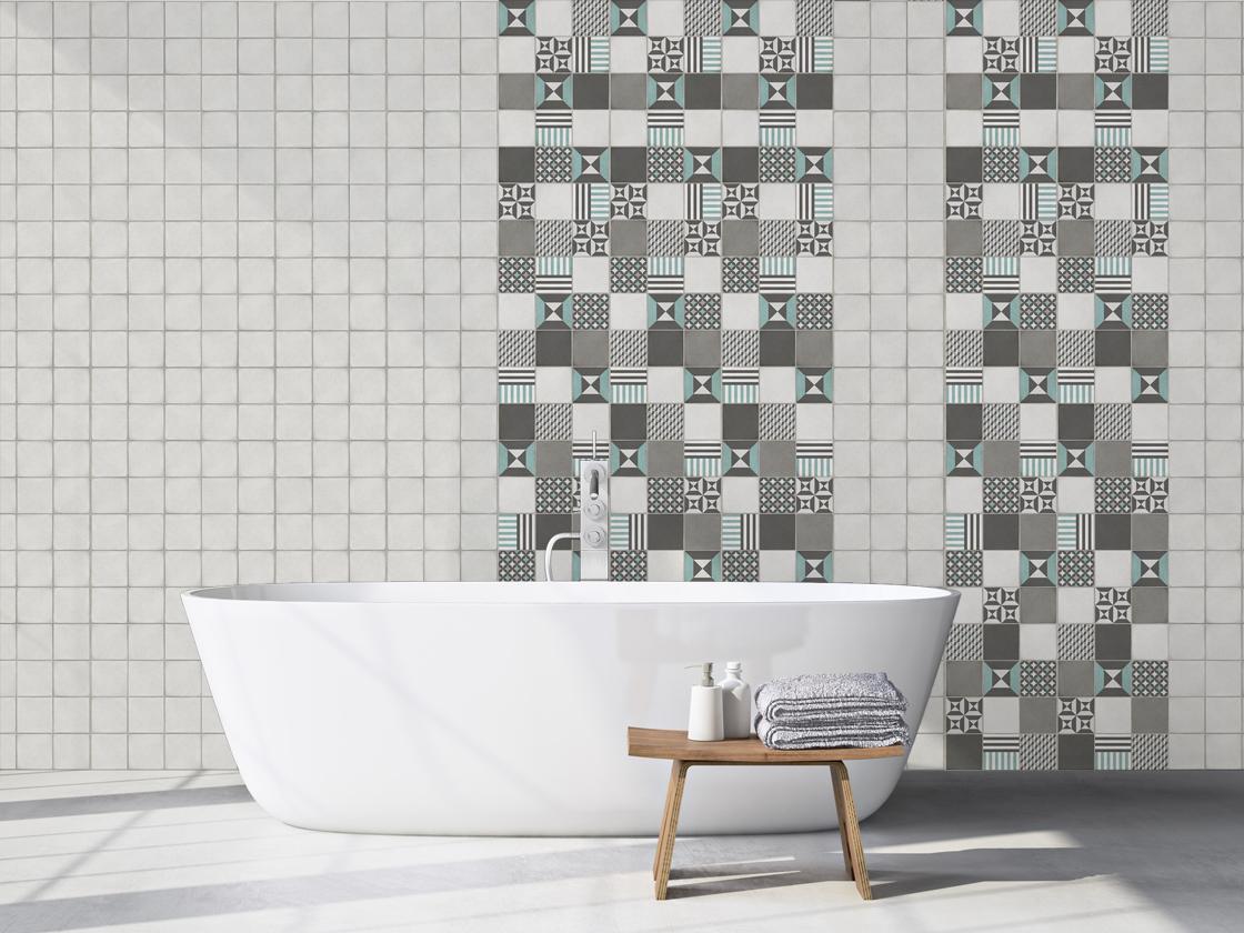 Le revêtement mural salle de bain - Grosfillex