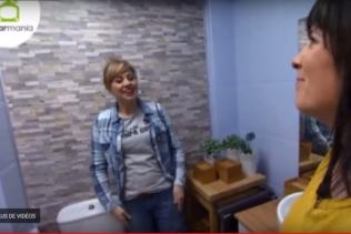 Une salle de bain entièrement relookée !