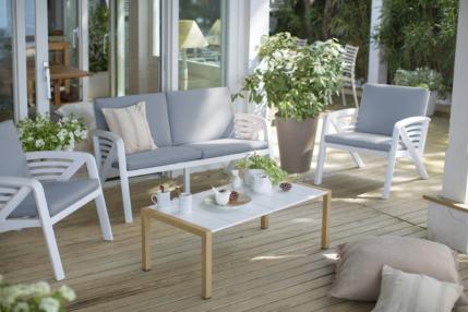 Mobilier et déco outdoor : un jardin « totale ambiance » ! - Grosfillex