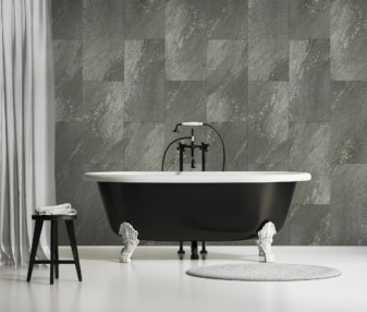 Dalle murale décorative Gx Wall+ Black Stone