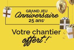 Grand jeu anniversaire 25 ans du réseau Grosfille...