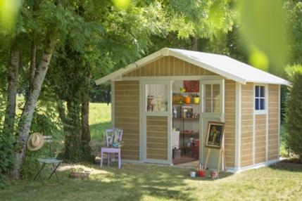 abri de jardin abri de jardin PVC cabane de jardin PVC cabanon PVC cabanon de jardin PVC