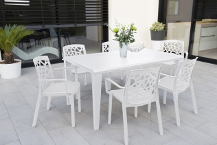 mobilier de jardin contemporain salon