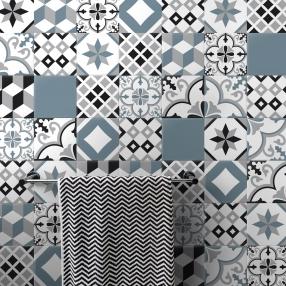 Wandtegels zelfklevende cementtegel zelfklevende tegelsticker