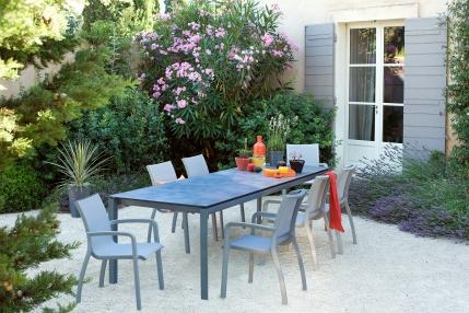 table dinatoire table de jardin table d'exterieur